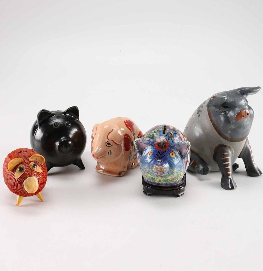 decorative piggy banks ebth
