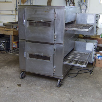 Lincoln 1240 Dual Conveyor Impingement Oven
