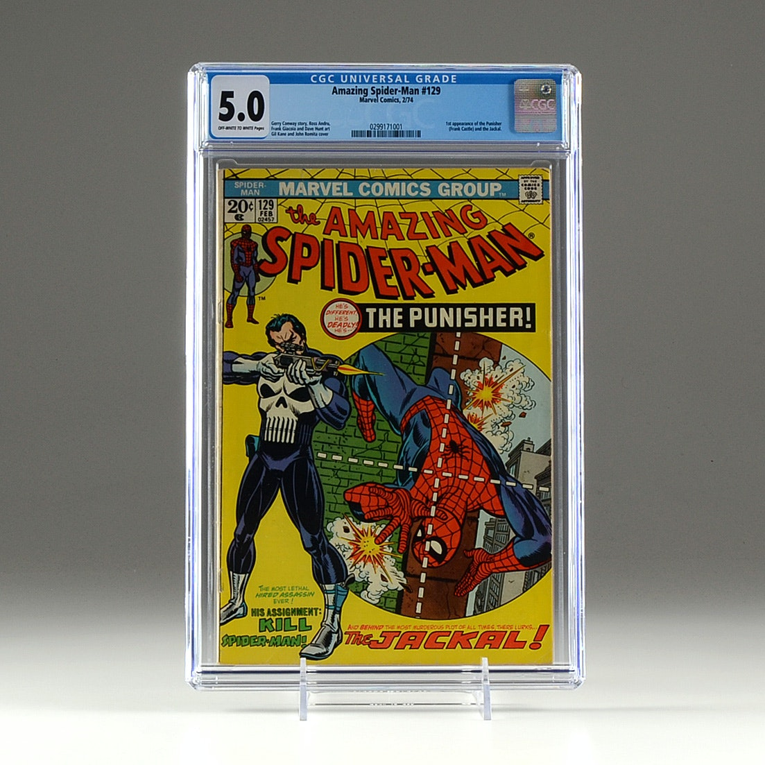 "Marvel Comics ""Amazing Spider-Man"" #129 Graded and Encapsulated"