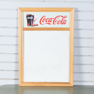 Coca-Cola Theme Double-Sided Dry Erase Board