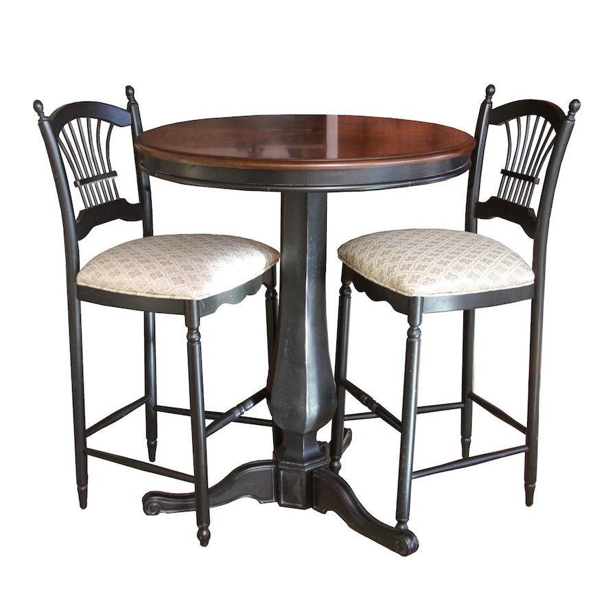 Surprising Shelby Williams Pub Table With Chairs Download Free Architecture Designs Estepponolmadebymaigaardcom