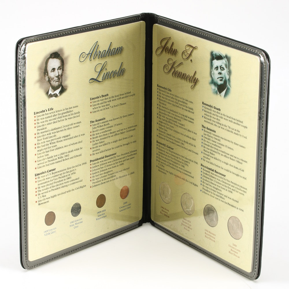 Lincoln And Kennedy Commemorative Coin Gallery Ebth
