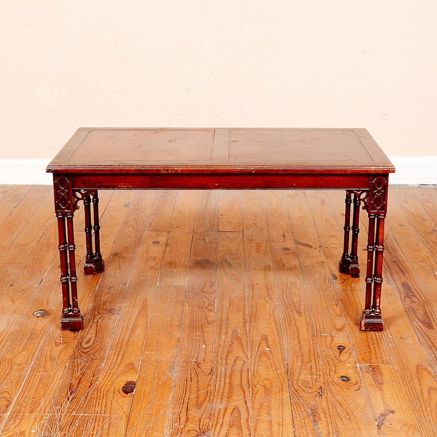 Fine Furniture Companies: Vintage Fine Arts Furniture Company Coffee Table