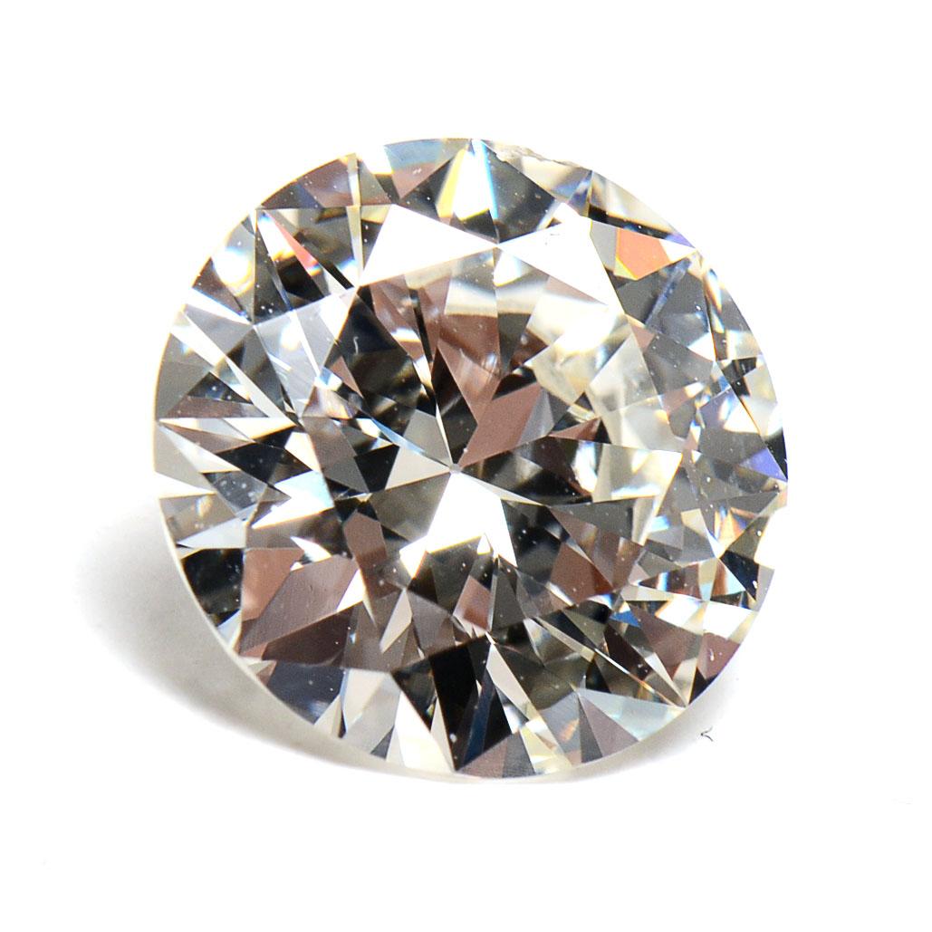 Loose 3.82 Carat Round Brilliant Cut Diamond | EBTH