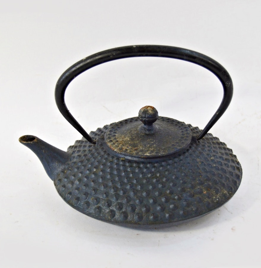 Japanese cast iron teapot ebth - Elephant cast iron teapot ...