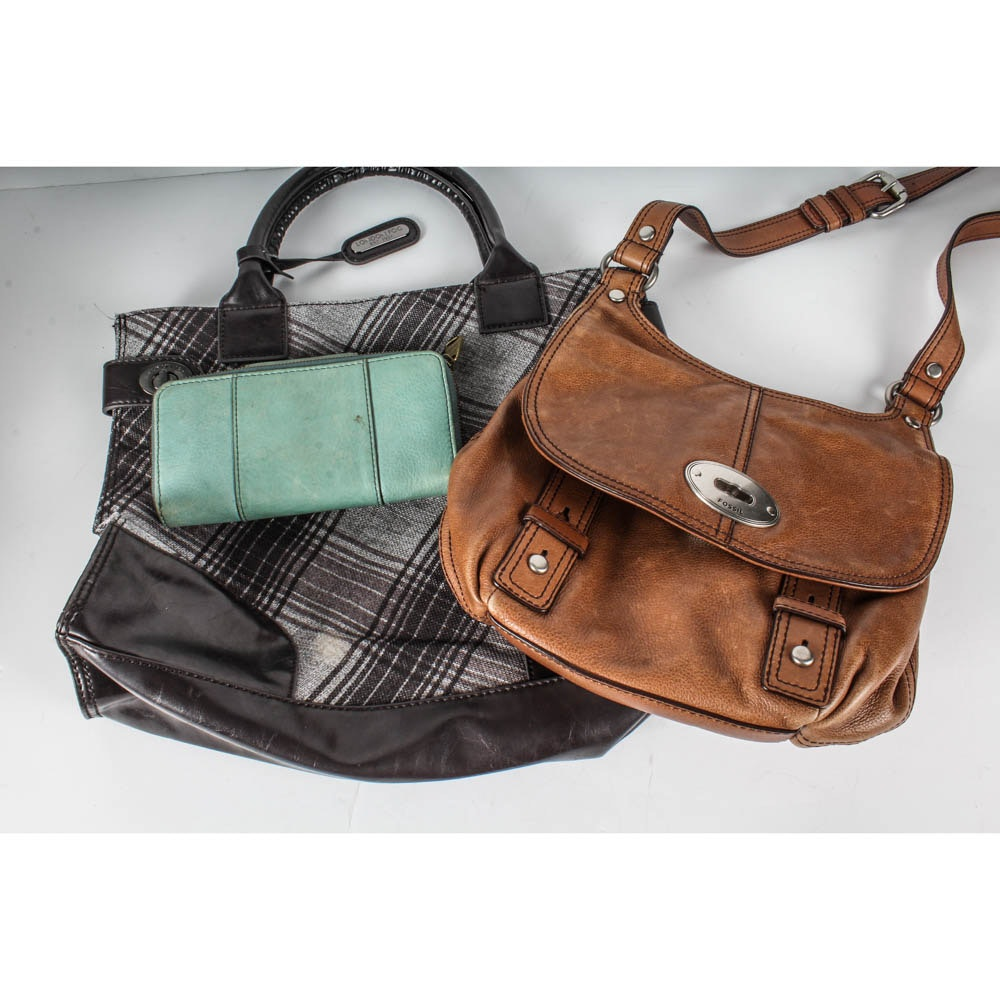 Fossil And London Fog Handbags Ebth