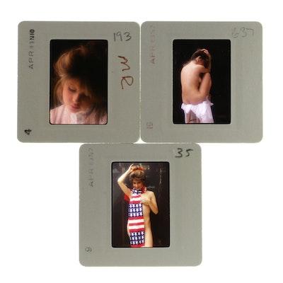 Original 35mm Slides of Pia Zadora by Bob Guccione
