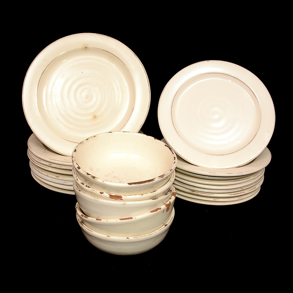 Pottery Barn Italian  Rustic  Dishes ... : rustic tableware - pezcame.com