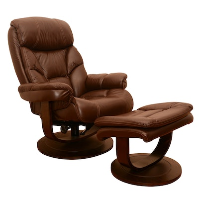 Leather power recliner by la z boy ebth for Boys lounge chair