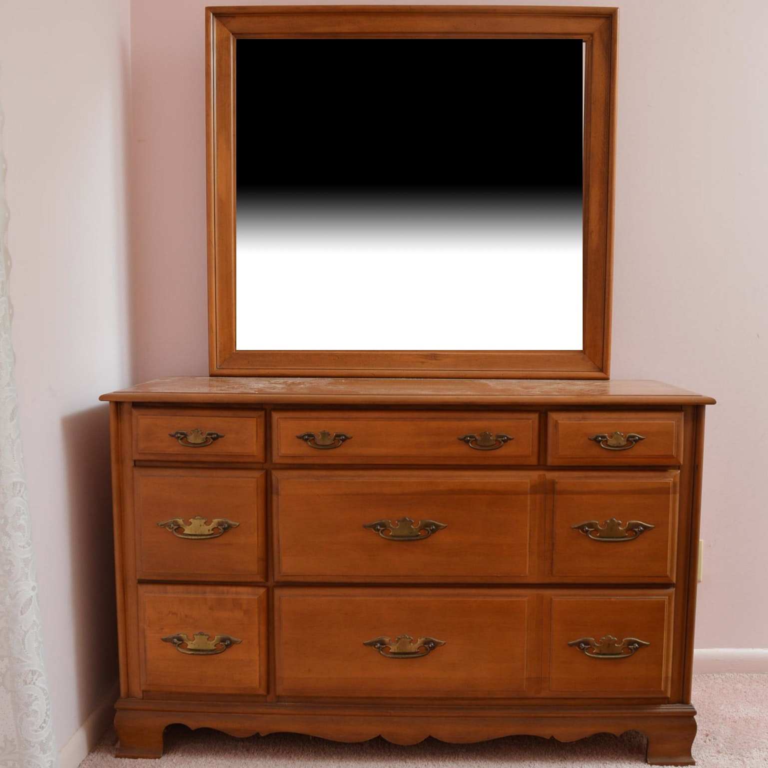 Sumter Cabinet Company Maple Dresser