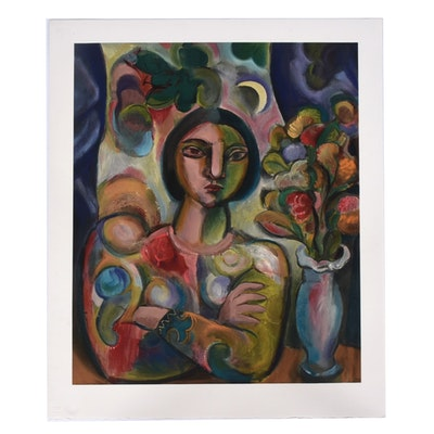 """Bob Guccione Giclee """"The Illustrated Woman"""""""