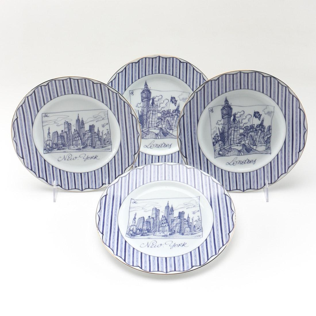Christian Lacroix  Cartes Postales  Salad Plates ...  sc 1 st  EBTH.com & Christian Lacroix