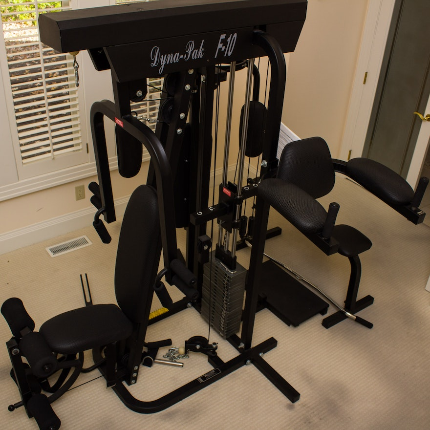 Home Exercise Equipment For Disabled: Dyna Pak F-10 Home Gym System