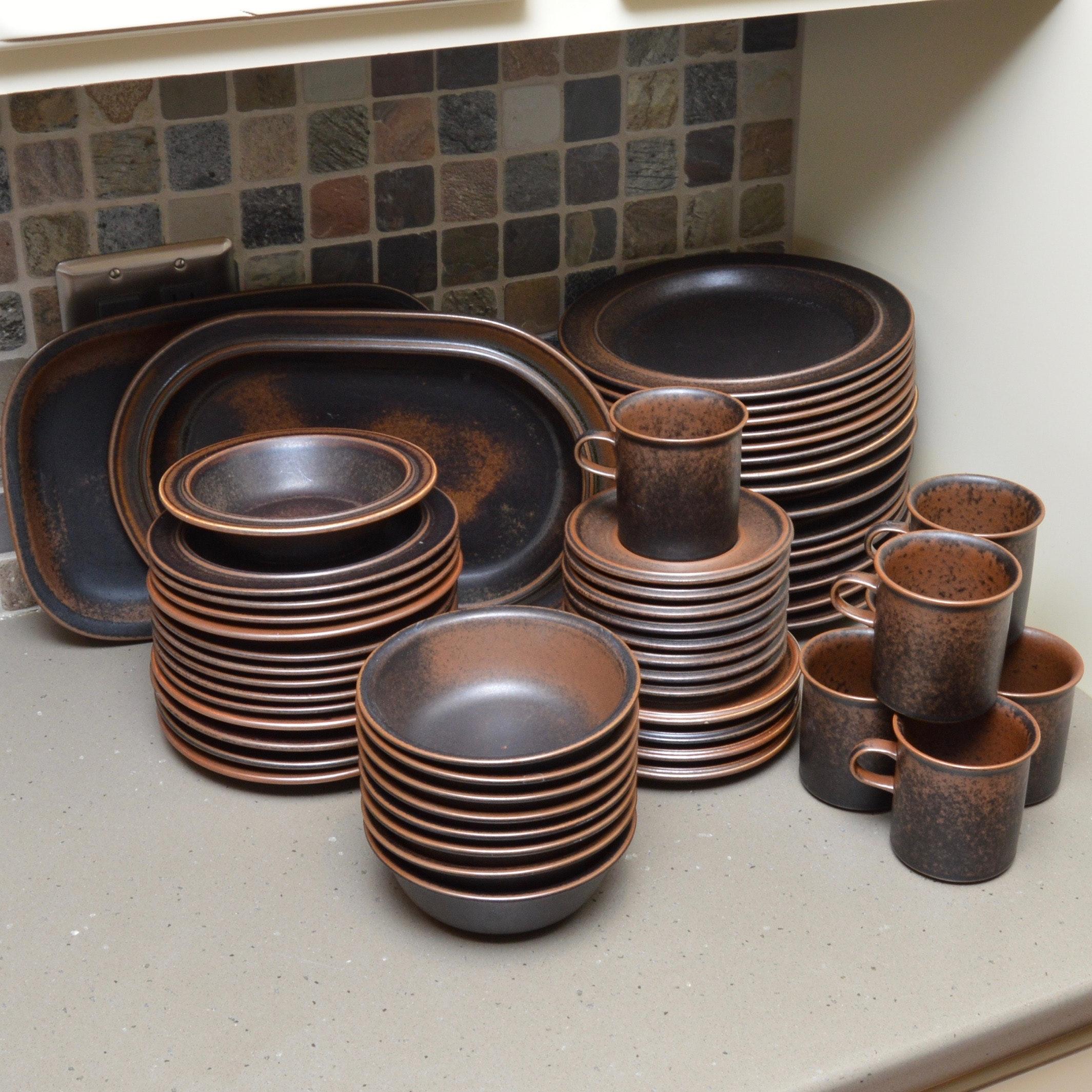 Ruska  Dinnerware Collection by Arabia of Finland ... & Ruska