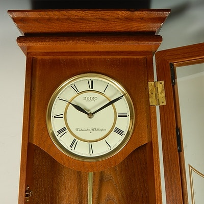 circa 1990 urgos keywound mantel clock with westminster
