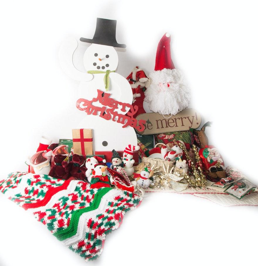 Traditional Christmas Decor Ebth