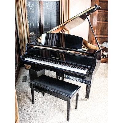 Yamaha gp disklavier baby grand piano ebth for Yamaha baby grand piano dimensions