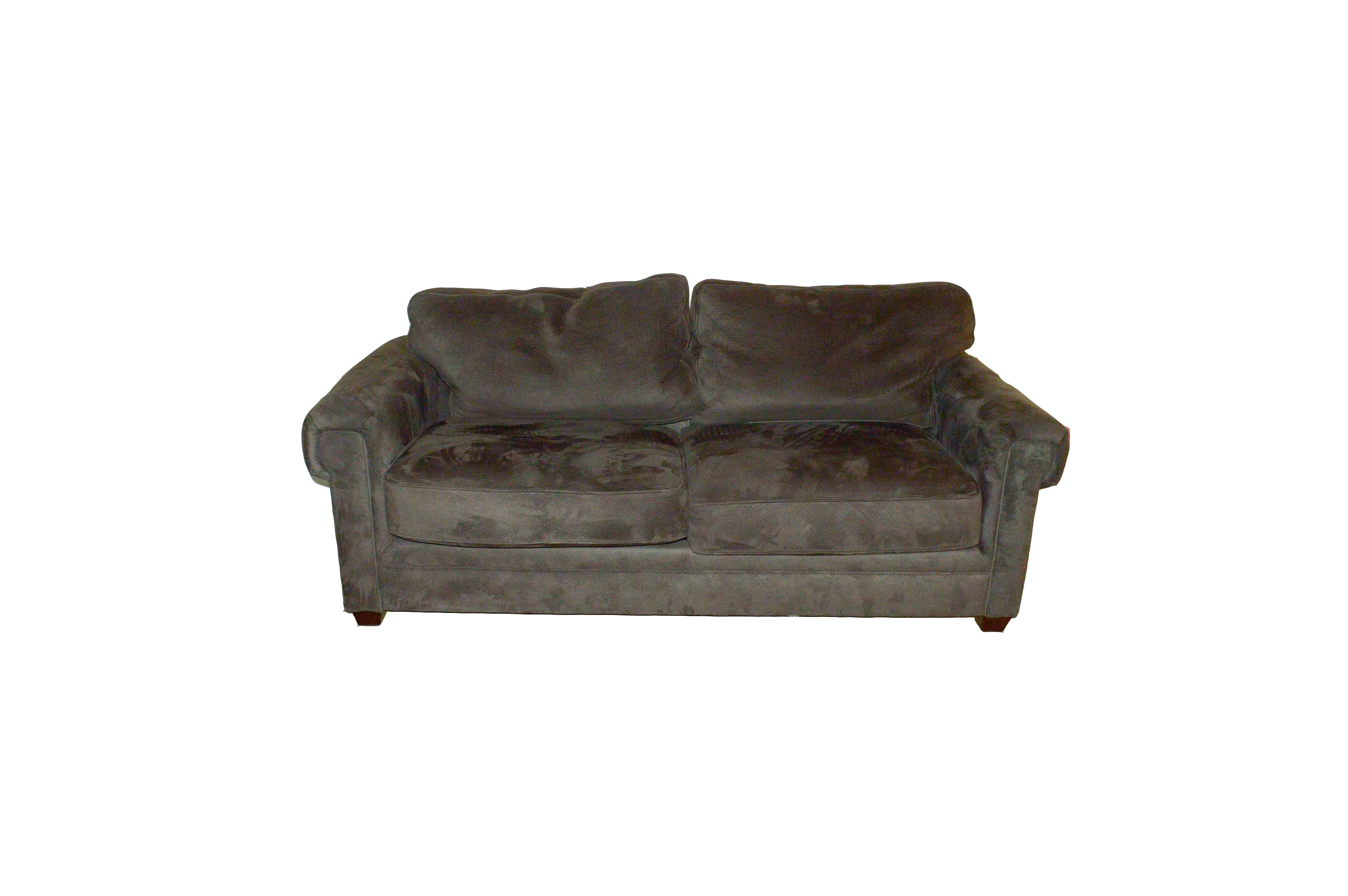 Hickory Fry Loveseat Sofa with Slipcover EBTH
