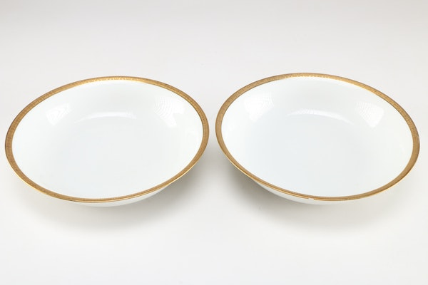 jean boyer limoges porcelain dinnerware set ebth