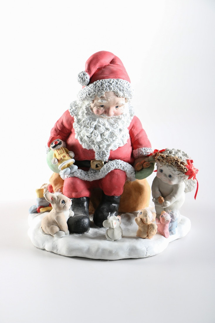 Dreamsicles Santa Figurine