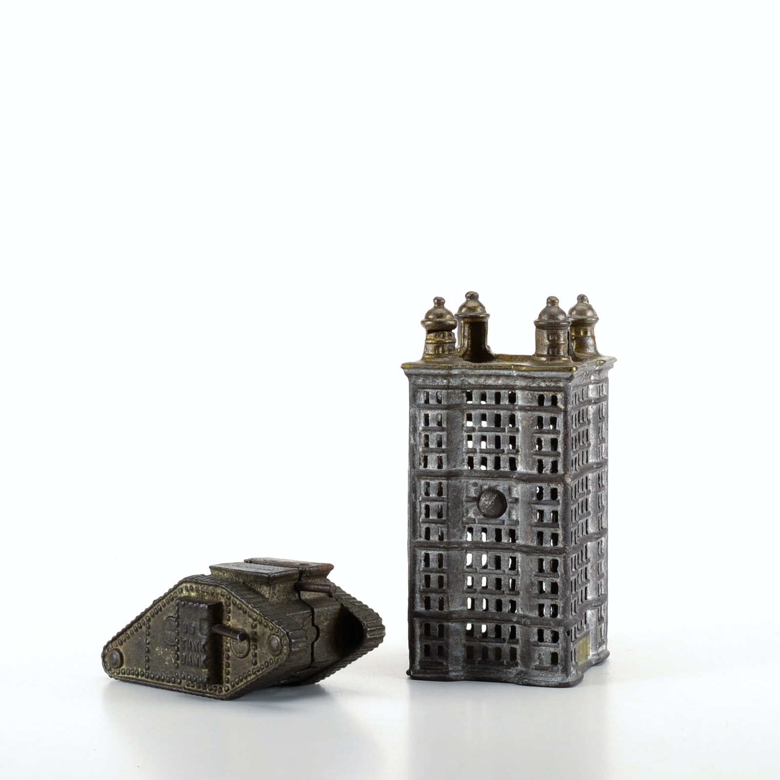 Cast Iron Coin Banks
