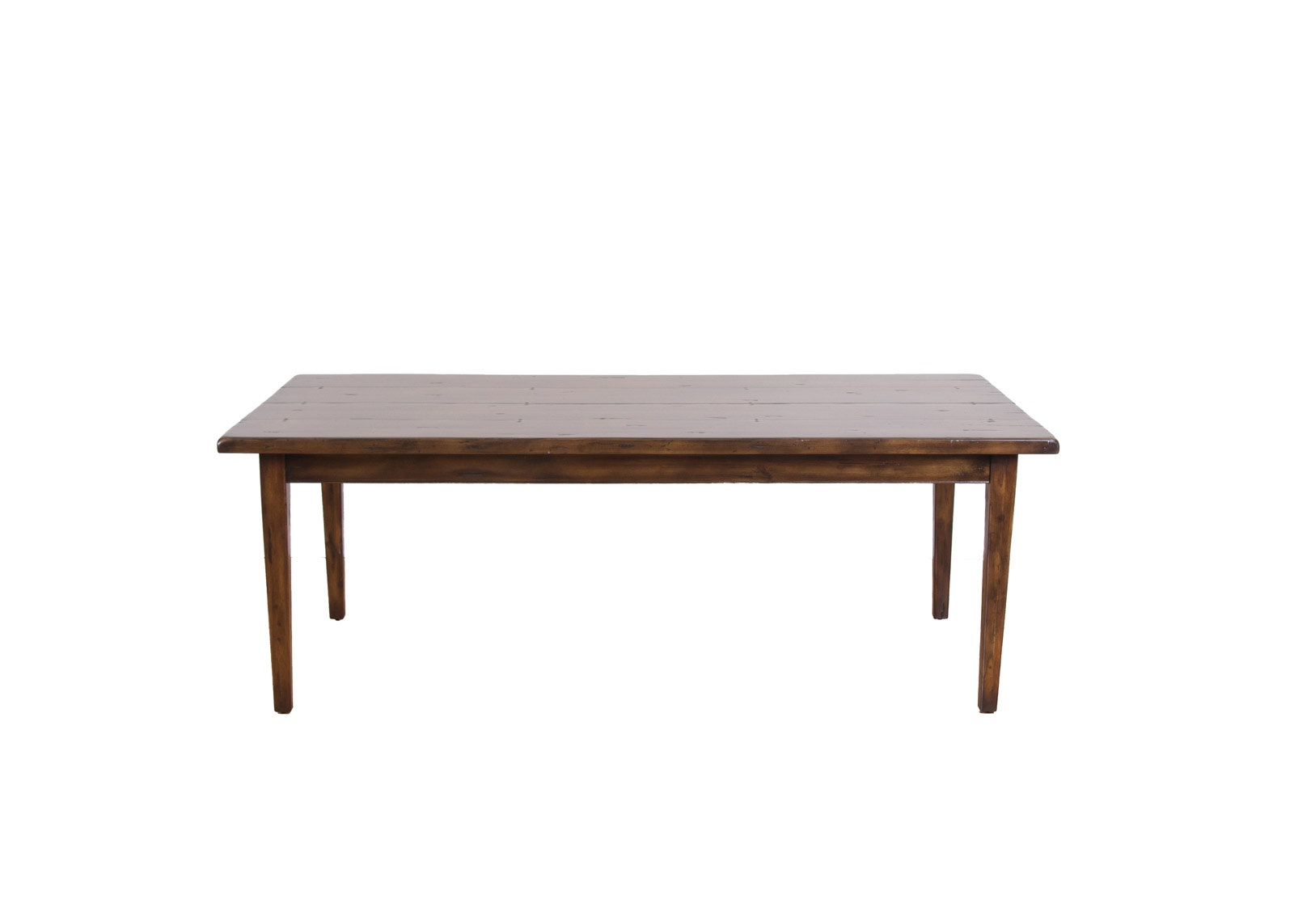 Fauld Cambridge Collection Primitive Farmhouse Table