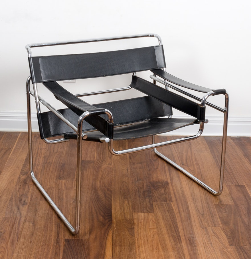 marcel breuer wassily chair ebth. Black Bedroom Furniture Sets. Home Design Ideas