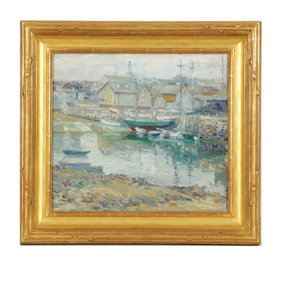 Charles S. Kaelin Rockport Harbor Scene