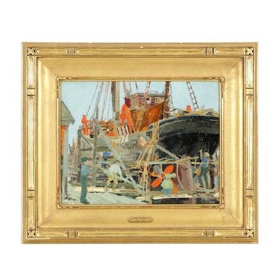 """""""Boat Repair"""" by Belle Hoffman"""