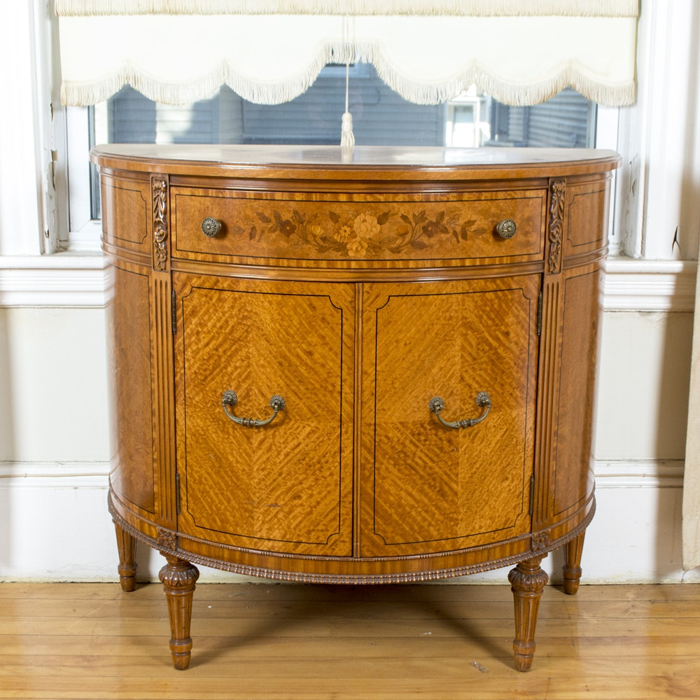 Perfect Demilune Console Cabinet By Northern Furniture Company ...