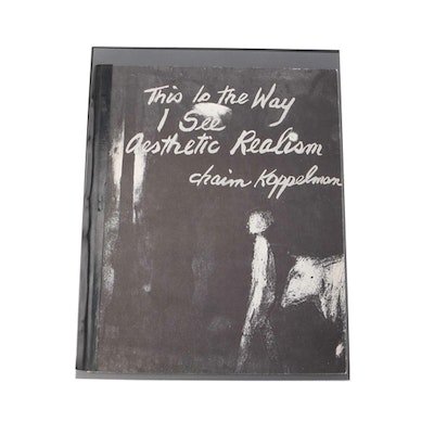 """Hand-Typed Booklet """"This Is The Way I See Aesthetic Realism"""""""