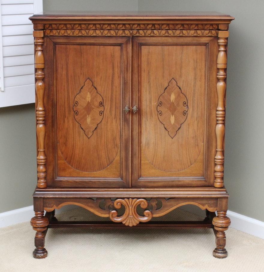 Vintage eastlake cabinet ebth for Eastlake storage