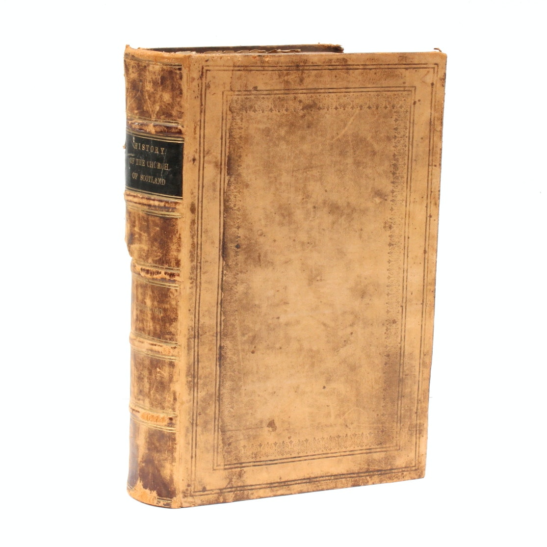 """Late 17th Century """"The True History of the Church of Scotland"""" with Index"""