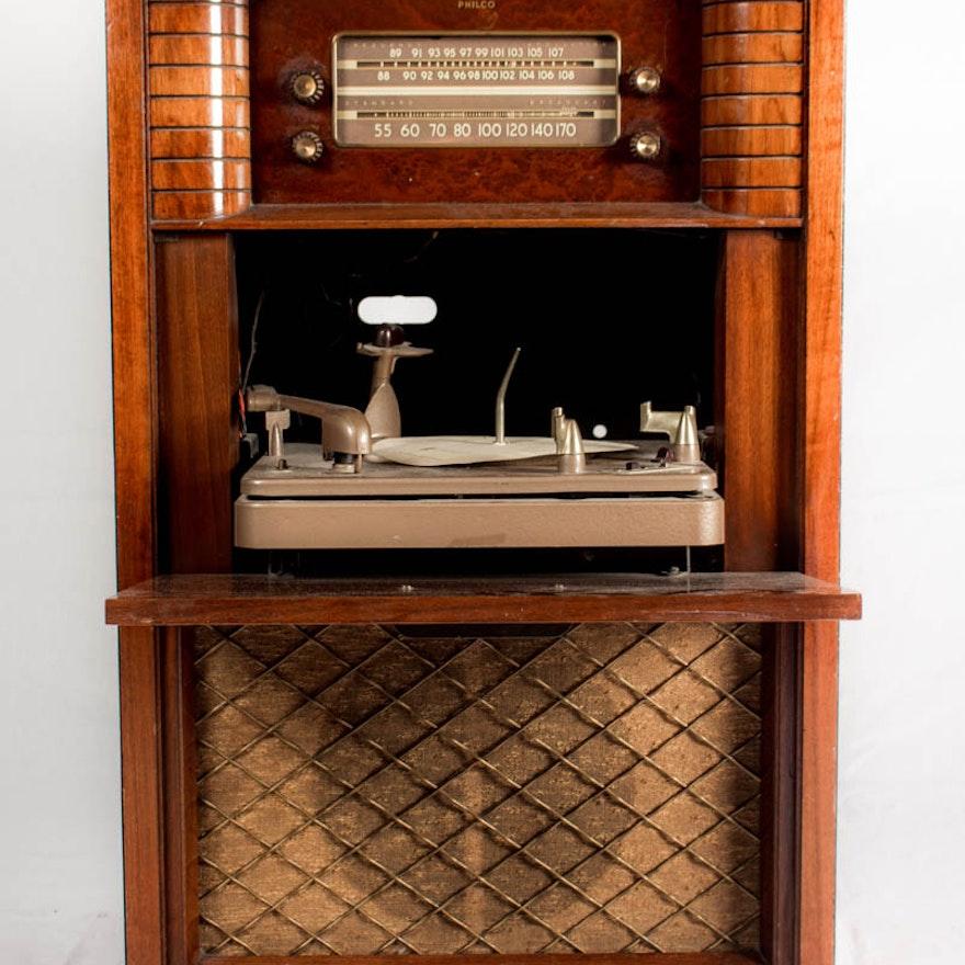 1948 Philco Radio Phonograph EBTH
