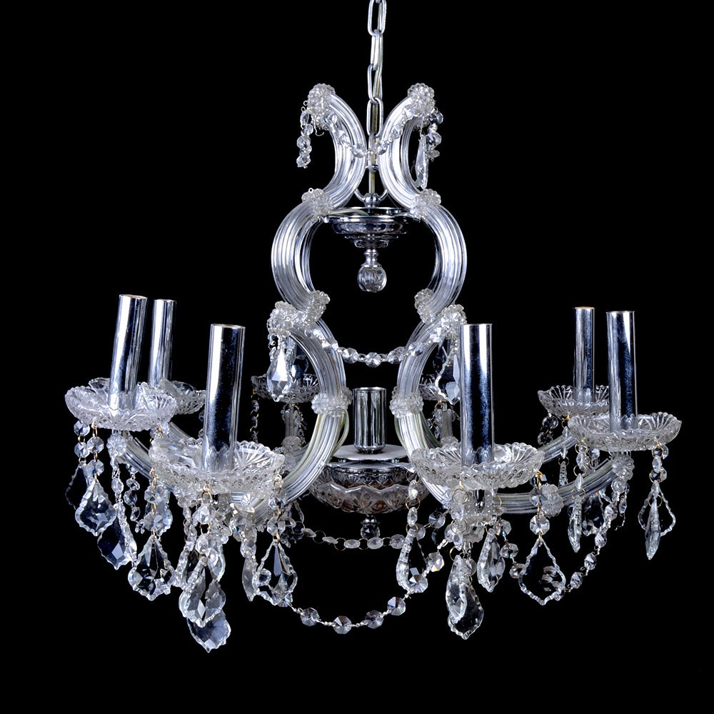 Eight-Armed Hanging Chandelier