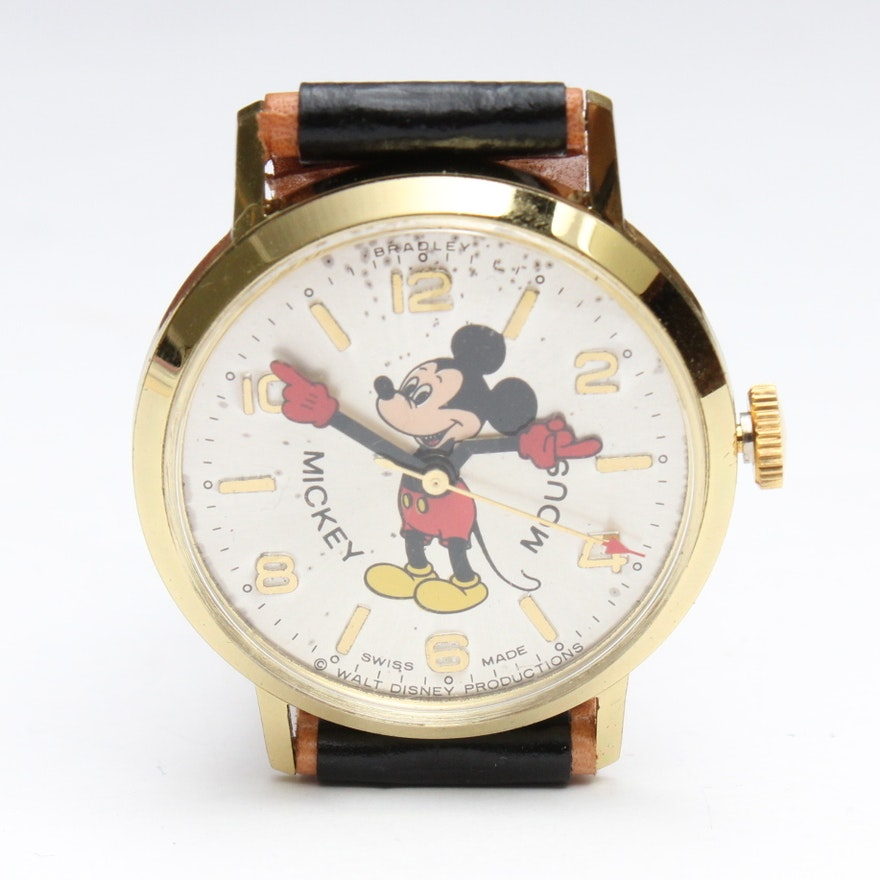 Walt Disney Commemorative Official Mickey Mouse Watch In Original Box Ebth