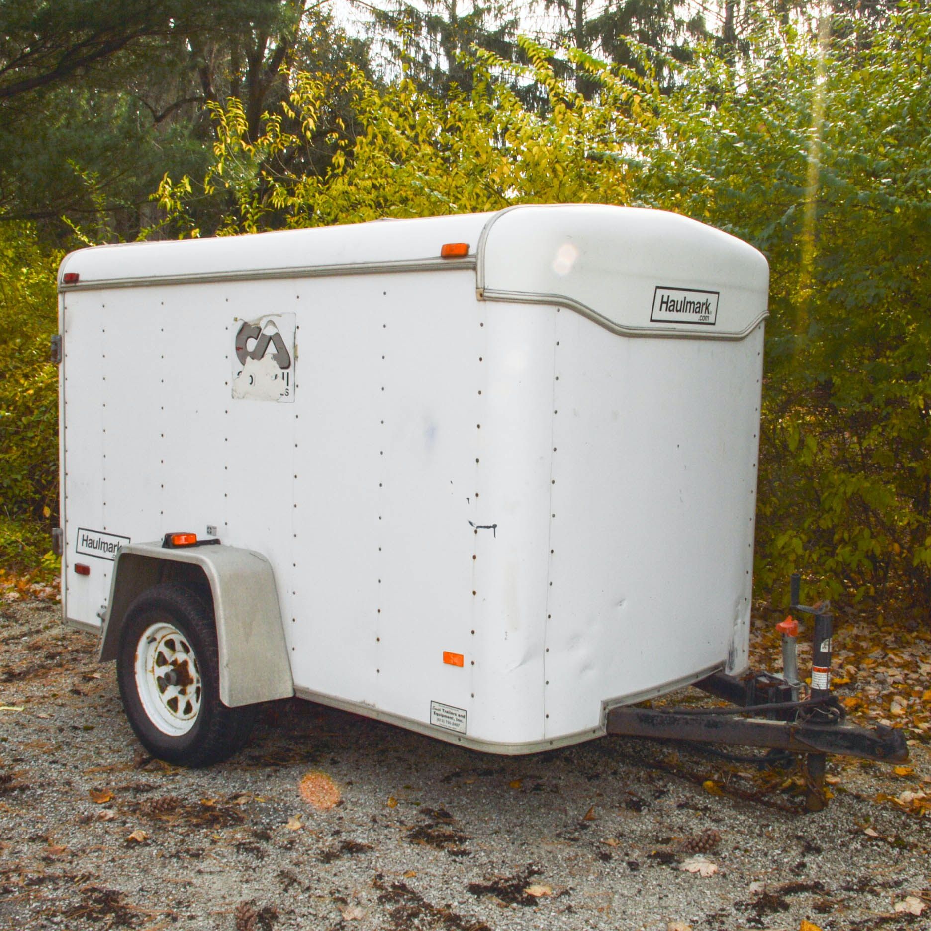 Haulmark 5 x 8 Foot Single Axle Enclosed Cargo Trailer