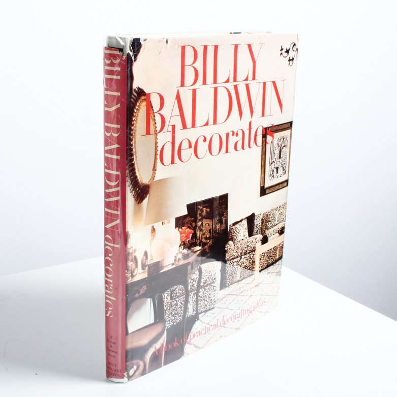 "Signed ""Billy Baldwin Decorates"" Book"