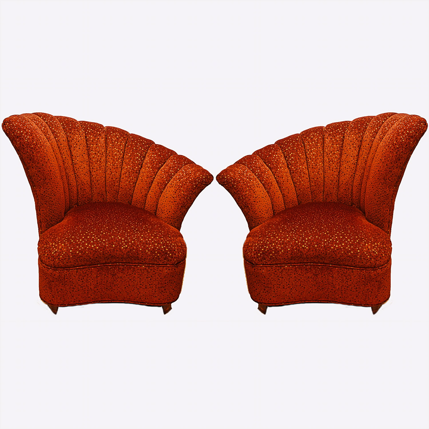 Pair of Contemporary Accent Chairs