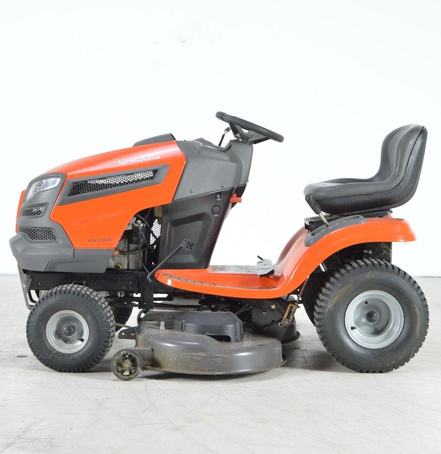 how to replace drive belt on husqvarna riding mower yth21k46