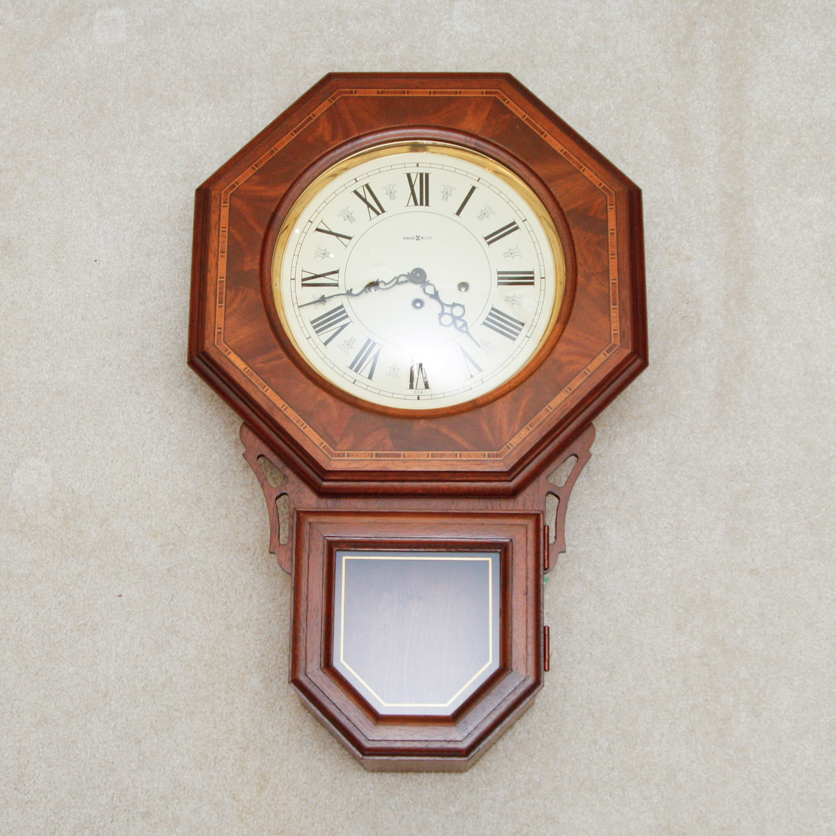 Howard Miller No 140 Westminster Chiming Wall Clock EBTH