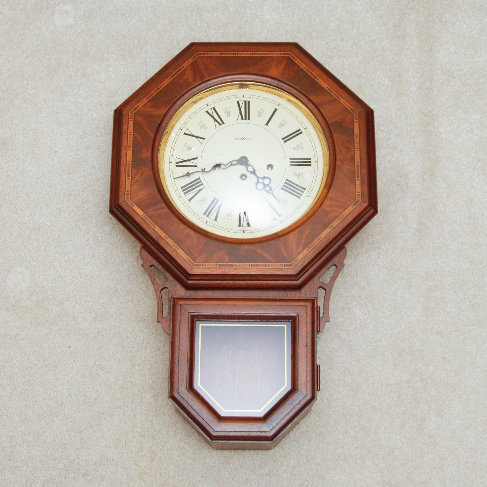 howard miller no 140 westminster chiming wall clock