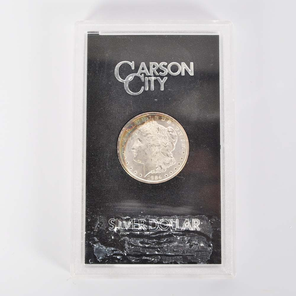 1884 Carson City Morgan Silver Dollar