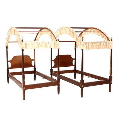 French Provincial Style Canopy Bed Frame EBTH