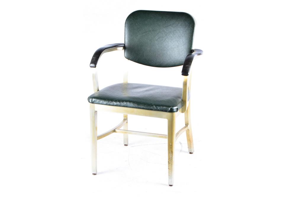 vintage metal office chair. Vintage Metal Office Chair A