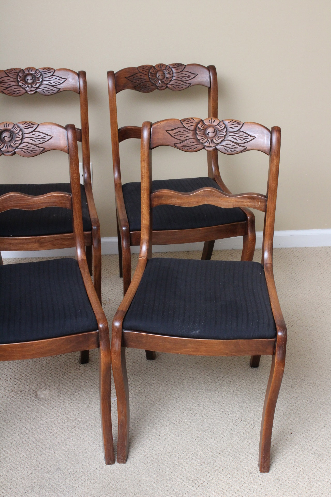 Dining Room Chair Seats Recovered