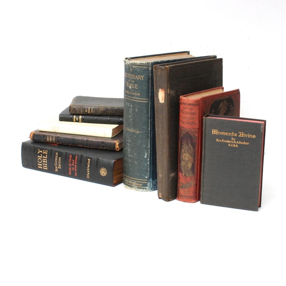 Antique Biblical Book Collection