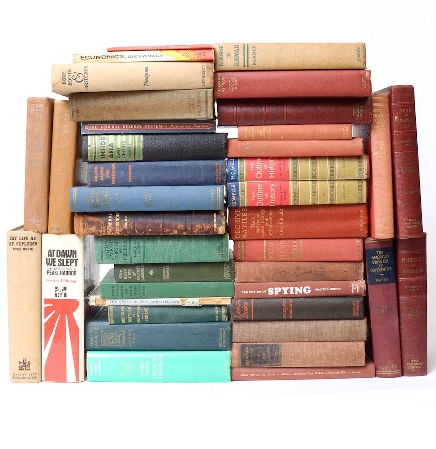 Vintage History Books 91