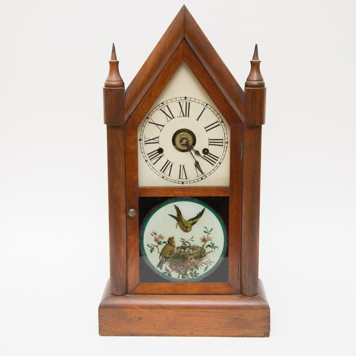 Antique Seth Thomas Steeple Clock Ebth