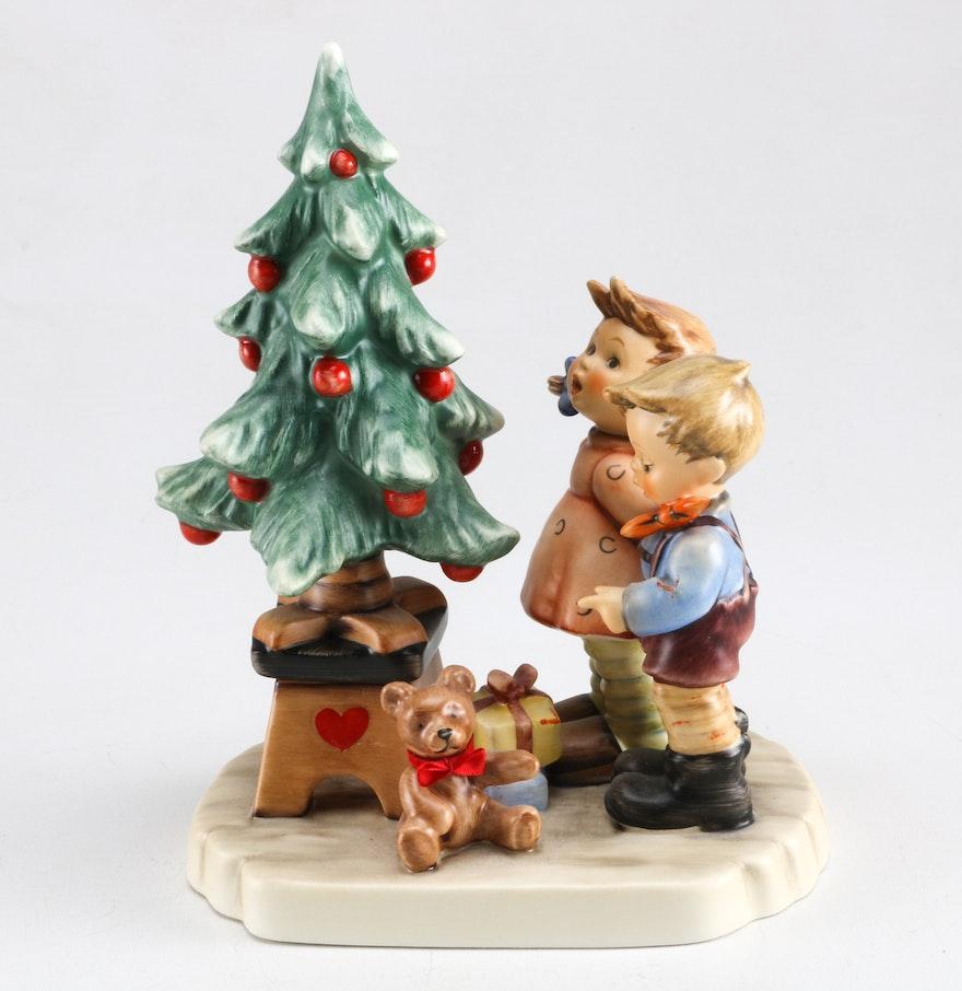 Hummel christmas tree ornaments - 1988 Wonder Of Christmas Hummel Figurine
